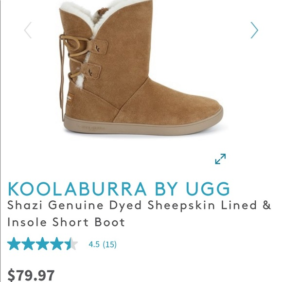 bed51926ec0 NWT! Size 7 Koolaburra by Ugg Shazi boot NWT